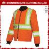 Куртка бомбардировщика померанцовой безопасности Workwear отражательная (ELTSJI-26)