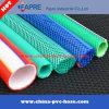 Tuyau souple renforcé de fibre de PVC renforcé