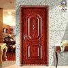 Portes en acier d'appartement d'entrée bon marché d'avant à vendre (SX-35-0036)