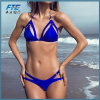 Бразильский Bikini Set Sexy порванный жгут взять с собой купальник бикини женщин 2018 Твердые купальник летом пляж купание купаться линии бикини