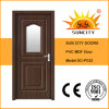 Porte en bois moderne avec l'intérieur en verre (SC-P032)