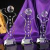 Новая конструкция хрустальное стекло гольф трофей для занятий спортом