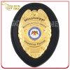 Distintivo della polizia dell'emblema del metallo placcato oro luminoso su ordine