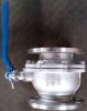 KS de la válvula de bola de acero inoxidable