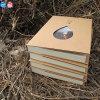 Caderno de papel recicl de Ilton Eco presente relativo à promoção Kraft
