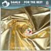 Milieu Zilveren en Goud Met een laag bedekte Stof van de Pongézijde van de Polyester