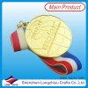 Medalla estampada antigua del honor de la placa de oro en el precio al por mayor