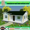 Energía Solar de Bajo Costo de la luz de casas prefabricadas prefabricados de acero Villa