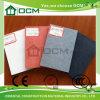 Tarjeta decorativa de alta densidad del cemento de la fibra de la tarjeta del tiempo