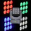 9 indicatore luminoso capo mobile della tabella della fase di 12W LED RGBW