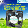 China New 2015 Design Small Size 120mm Electrical Cooling Exhaust Fan für Radiating und Ventilation (F2E-120S/B)
