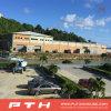 El profesional de Pth diseñó la estructura de acero industrial para el taller