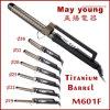 De M601f da fábrica encrespador de cabelo Titanium do projeto do estilo do tambor X das vendas diretamente