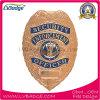 Divisa modificada para requisitos particulares de la policía del metal de la aleación del cinc