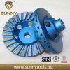 4 ~ 10 'Single Row Diamond Abrasive Stone Cup Grinding Wheel