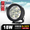 Waterdichte IP68 Round Waterproof 18W 4  Op zwaar werk berekende LED Work Light