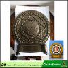 Emblema della Romania Plice del metallo placcato oggetto d'antiquariato