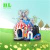 Huis Combo van het Thema van het circus het Opblaasbare met 3D Olifant