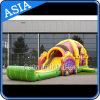 Princesse gonflable géante extérieure Slide de fille pour l'anniversaire