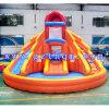 Hot Sale Diapositive de l'eau/eau gonflable Bouncer/ Commerical utilisé deux façon toboggans gonflables