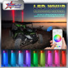 High Power Fibre Optique LED Drapeau de sécurité LED Whips, RGB Bluetooth Control 4FT 5FT 6FT Rouge Bleu Orange Vert Blanc LED Whip pour ATV UTV