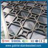 Divisor portable del metal del sitio de la pantalla del acero inoxidable