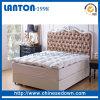 El ganso abajo empluma el protector de bambú del colchón de la espuma del colchón de la tela