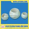 Pièce en céramique de fabrication personnalisée de robinet à tournant sphérique de Zirconia