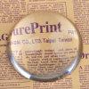 forma da esfera de cristal de 40mm Paperweight de vidro da abóbada da meia