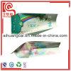 La bolsa de plástico de la servilleta del papel de aluminio