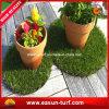装飾的な草のマットを美化する擬似草の泥炭の庭
