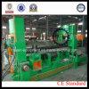 W11s-25X2500 máquina de rolamento hidráulica da placa da folha dos rolos do universal três