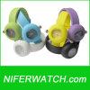 실리콘 PC21S 건전지 다채로운 시계 (NFSP060)