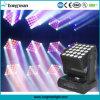 25*15W Lampe à LED le déplacement de la tête de la matrice des mariages décoration de l'étape/DJ équipement