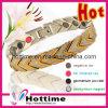 Bio bracelete magnético do aço inoxidável (GS-0135)