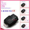 O telecontrole para auto VW 3+1 abotoa 1 Ko 959 753 P 315MHz para América Canadá México China