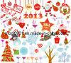 Sticker-Kerstmis Bevordering (wy-SS0326974)