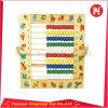 Ábaco de madera educativo de 26 de las cartas granos de la transferencia termal