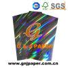 Papier métallisé par transfert d'hologramme pour l'empaquetage