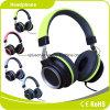 緑のスピーカーの方法低音の品質によってワイヤーで縛られるヘッドホーン