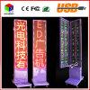 Signes polychromes double face imperméables à l'eau d'Afficheur LED de l'étalage P10 extérieur annonçant l'atterrissage vertical de défilement vertical d'étalage