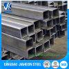 Sección rectangular/cuadrada de acero galvanizada sumergida caliente de la depresión del cuadrado del tubo/del tubo de la construcción