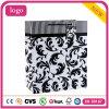 Schwarzes dekoratives Muster-Form-Kunst-überzogenes Geschenk-Papierbeutel