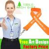 Gift를 위한 승진 Custom Printing Single Face Nylon 또는 Satin Lanyard