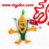 Plüsch angefüllter Mais-Schlüsselring