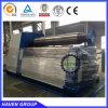 Machine de plaque du rouleau W12S-16X3000 4 de dépliement en acier et de roulement