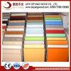 4X8 de alta calidad de ambos lados de madera contrachapada de melamina blanca/MDF