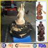 5つの軸線CNC仏の彫版のルーター機械木製の切り分ける芸術の彫刻CNCのルーター機械