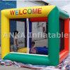 Pequena caixa cúbica Saltar Bouncer infláveis para Piscina
