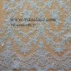 卸し売り白いレーヨン及びポリエステルビーズの花嫁のレースファブリックウェディングドレス(VL-60001BCP)